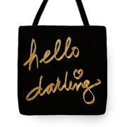 Darling Bella I Tote Bag