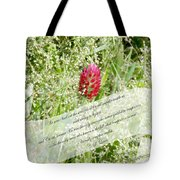 Army Of One - Quote Tote Bag