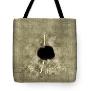 Ostrich Portrait Tote Bag