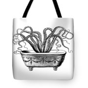 Tentacles In The Tub Tote Bag