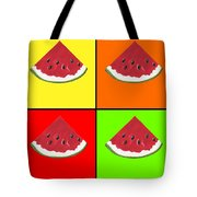 Tiled Watermelon Tote Bag