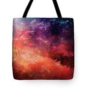 Planetary Soul Violet Tote Bag
