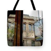 Paris Cafe Views Reflections Tote Bag