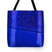 Blue Divide Tote Bag