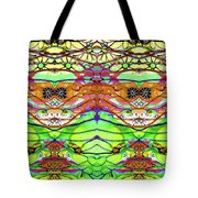 Wild Flowers Abstract Art - Sharon Cummings Tote Bag