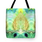 Abstract Art - Calm - Sharon Cummings Tote Bag
