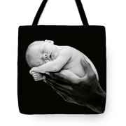 Tony Holding Georgia Tote Bag by Anne Geddes