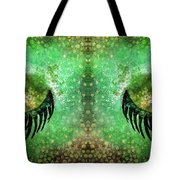 Dragon Eyes At Dawn Tote Bag