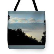 Timberholm Inn Morning View Stowe Vt Tote Bag