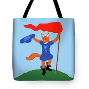 Reynard The Fairy Tale Fox Tote Bag
