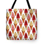 Soft Serve Pattern Tote Bag