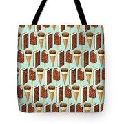 Ice Cream Novelties Pattern Tote Bag