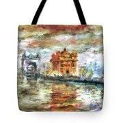 Amritsar Palace Tote Bag