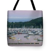 Sunrise Over Mallets Bay Panorama - Two Tote Bag