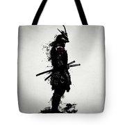 Armored Samurai Tote Bag