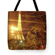 Eiffel Tower By Bus Tour Tote Bag