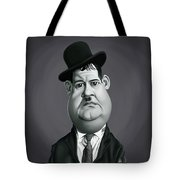 Celebrity Sunday - Oliver Hardy Tote Bag