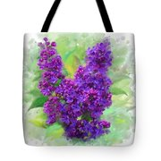 Watercolor Lilac Tote Bag