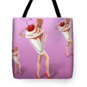 Ice Cream Woman 2 Tote Bag