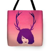 Jackalope Lady Tote Bag
