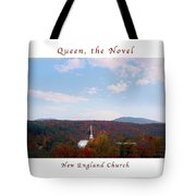 Image Included In Queen The Novel - New England Church Enhanced Poster Tote Bag