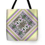 Hill Of Flowers Double Tote Bag