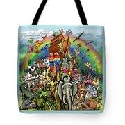 Noah's Ark Tote Bag by Kevin Middleton