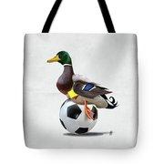 Fowl Wordless Tote Bag