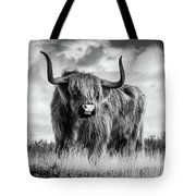 Highland Bull Tote Bag
