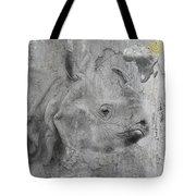 The Beautiful Rhino Tote Bag