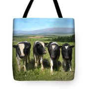 Curious Cows Tote Bag by Ivana Westin