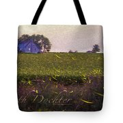 1300 - Fireflies Impression Version Tote Bag
