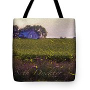 1300 - Fireflies Impression Version Tote Bag