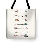 7 Arrows Tote Bag