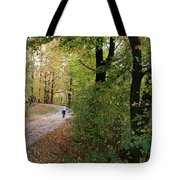 Autumn Bicycling Vertical One Tote Bag