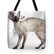 Cute Cornish Rex Youngster Tote Bag
