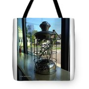 Image Included In Queen The Novel - Lantern In Window 19of74 Enhanced Poster Tote Bag
