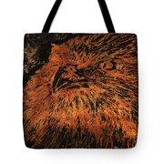 Eagle Metallic Copper Tote Bag