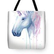Cotton Candy Unicorn Tote Bag