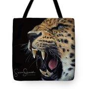 Amur Leopard Tote Bag