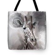 Giraffe No 01 Tote Bag