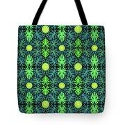 Monstera Leaves Pattern Tote Bag