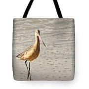 Sandpiper Strolling - Horizontal Tote Bag