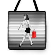 Stripes In Fashion Tote Bag