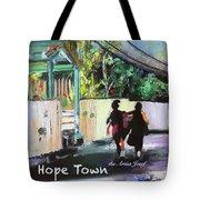 School Day In Hope Town Tote Bag