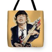 Angus Young Tote Bag
