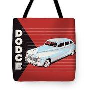 Dodge Showroom Poster Tote Bag