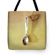 Hanging Spoon On Jute Twine Tote Bag