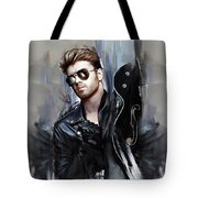 George Michael Singer Tote Bag