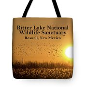 Bitter Lake National Wildlife Refuge Birds, Roswell, New Mexico Tote Bag